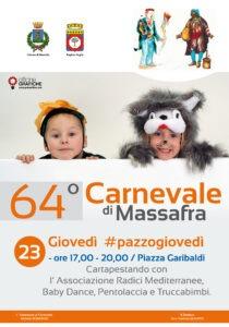 Manifesto Carnevale GIOVEDI' PAZZO